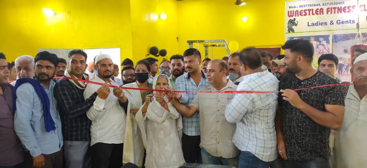काशीपुर में खुला रेस्टलर फिटनेस क्लब