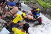 तेज बहाव में आईटीबीपी जवान बहा, भाई को बचाया