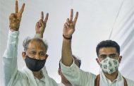 भाजपा धड़ाम, गहलोत सरकार ने जीता विश्वास मत
