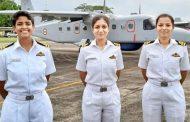 भारतीय नौसेना में तीन महिलाओं की मिशन में एंट्री..