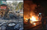 ऋषिकेश मे सुबह सुबह लगी भीषण आग... दो दुकानें और चार वाहन जलकर राख