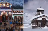 उत्तराखण्ड में मौसम के बदले मिजाज, बद्री,केदार समेत कई ऊँची पहाड़ियों पर बर्फबारी