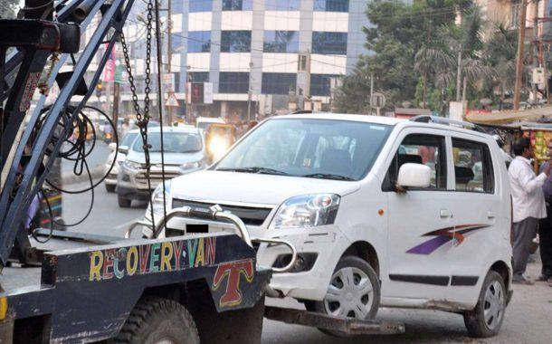 4 जिलों में ट्रैफिक पुलिस का बड़ा अभियान...