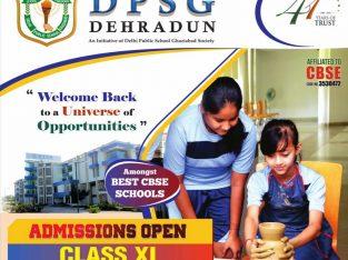Admission Open Class XI & Nursery